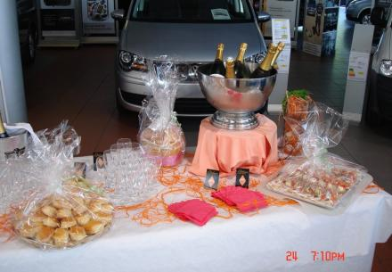 12 piéces/pers avec champagne