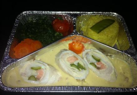 Paupiette de sole & saumon aux asperges