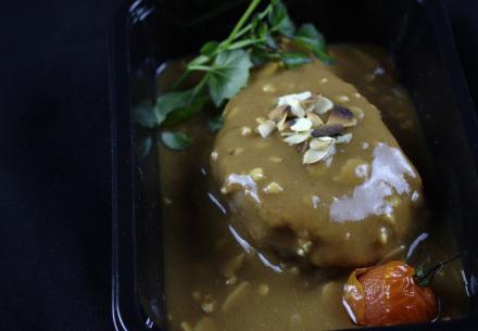 Poularde farce fine foie gras & cêpes